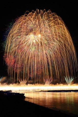 正三尺玉とナイアガラ|長岡花火大会2016の日程は?