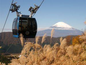 箱根ロープウェイ 富士山
