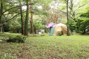 フリーサイトキャンプ場
