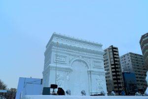 札幌雪まつりの大雪像