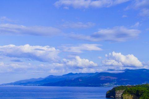 祝津から見た石狩湾