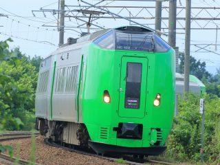 函館本線特急列車ライラック