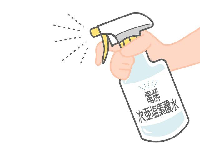 次亜塩素酸水スプレー