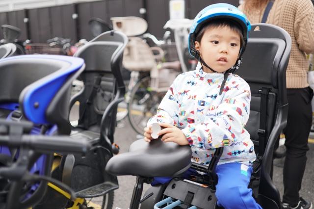 保育園へ自転車で行くときの防寒