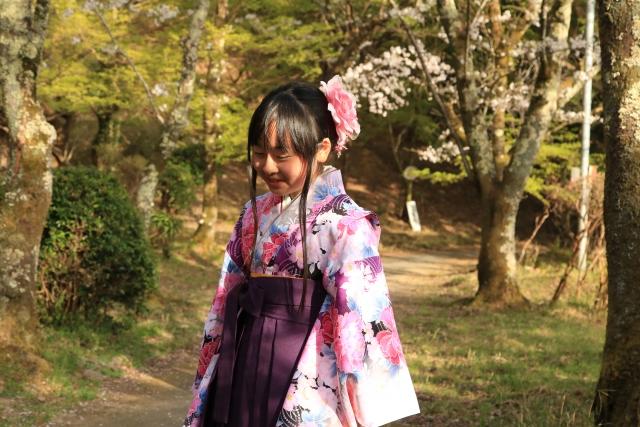 袴の女の子