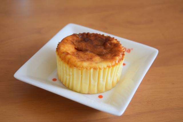 コンビニのチーズケーキ