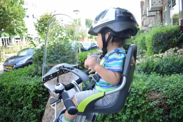 子ども前乗せ自転車